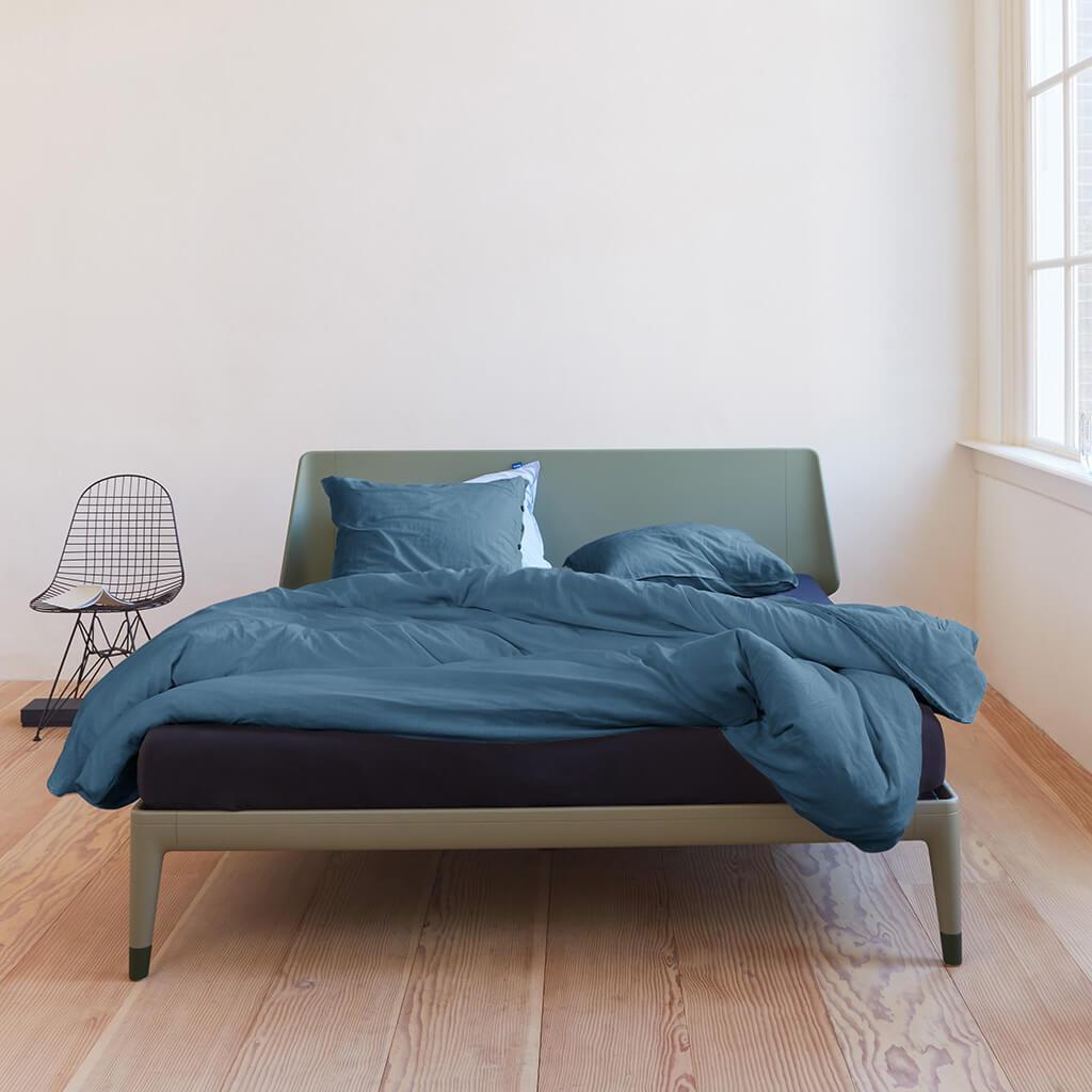 Housse de couette Congo bluegrey bed