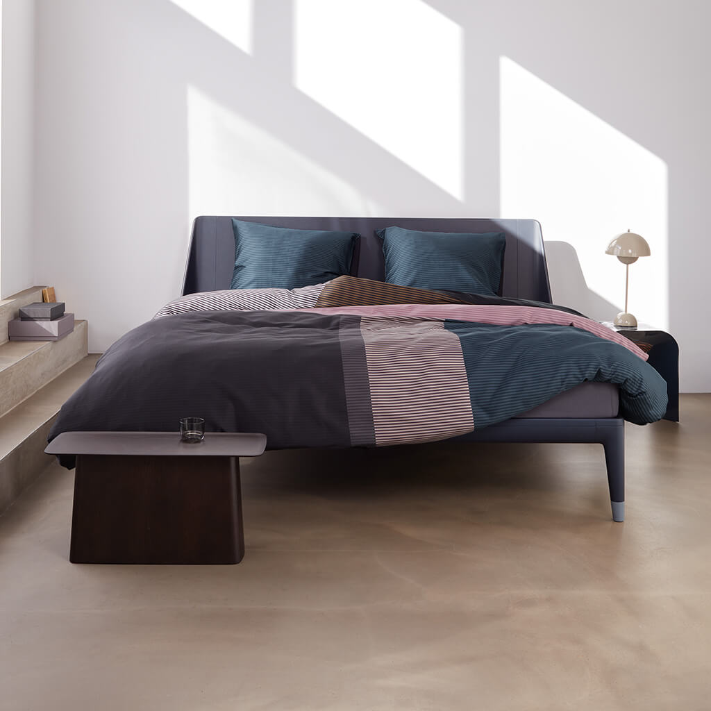 Housse de couette Perry Street Black Bed