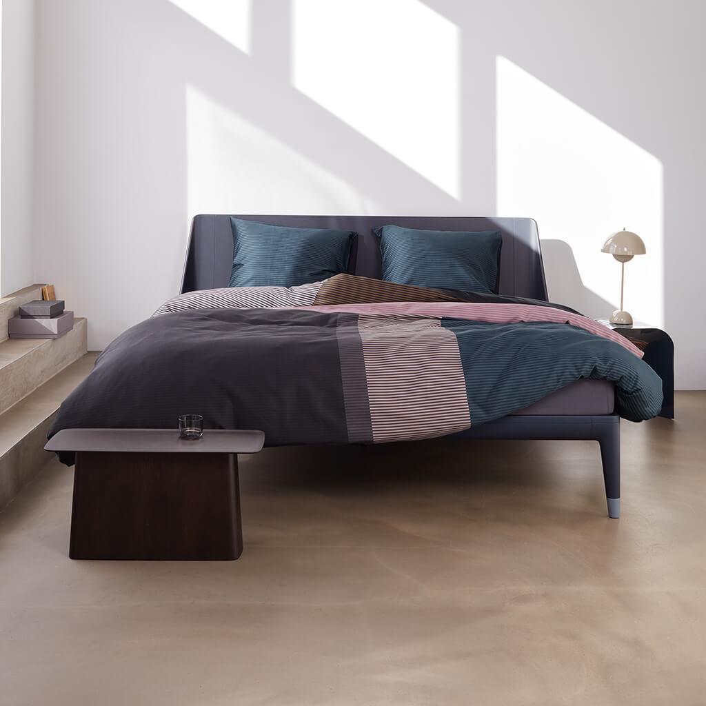 Bettwäsche Perry Street Black Bed