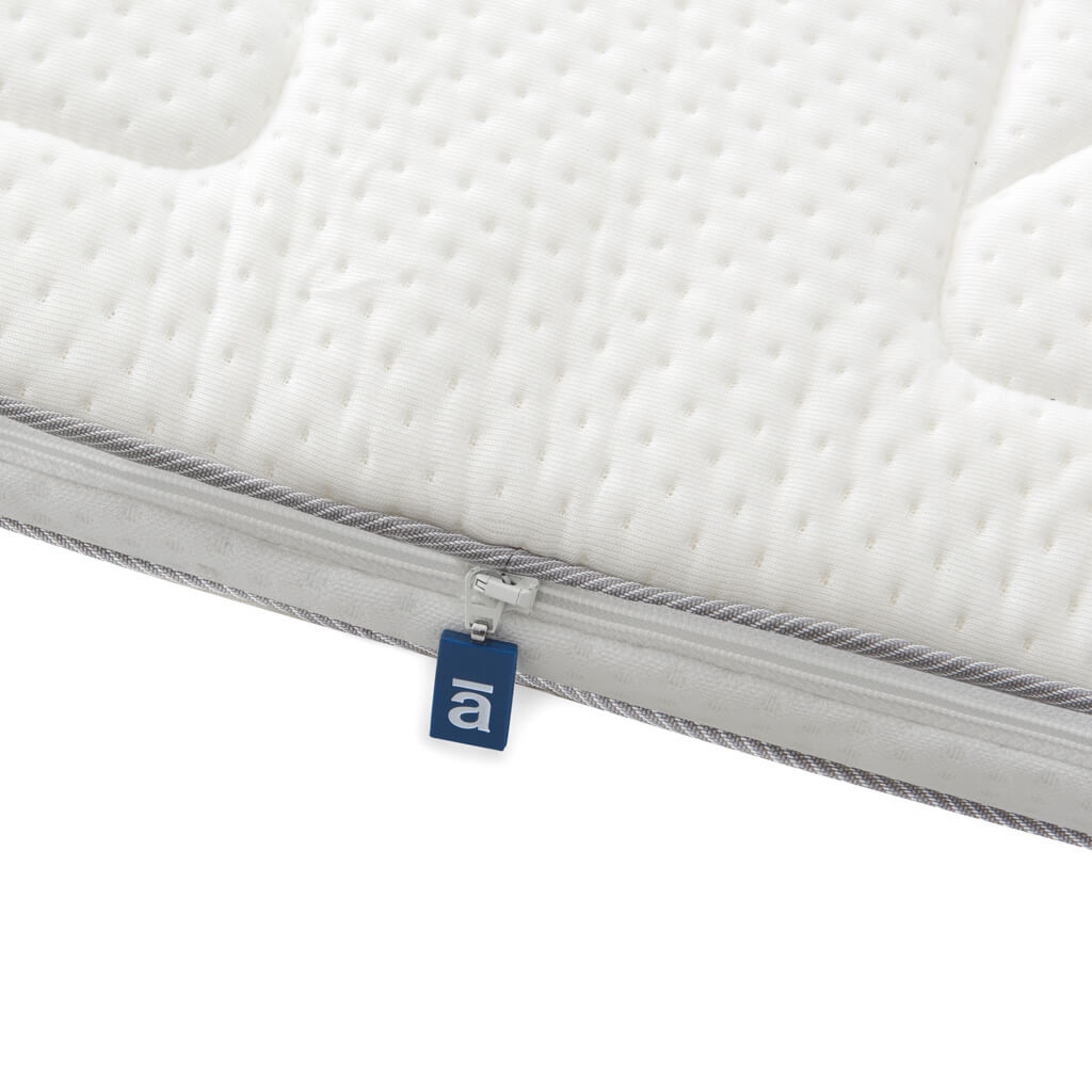Double top mattress Deluxe with removable and washable cover