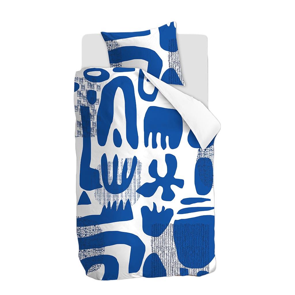 Bettwäsche Echo blue packshot 1P