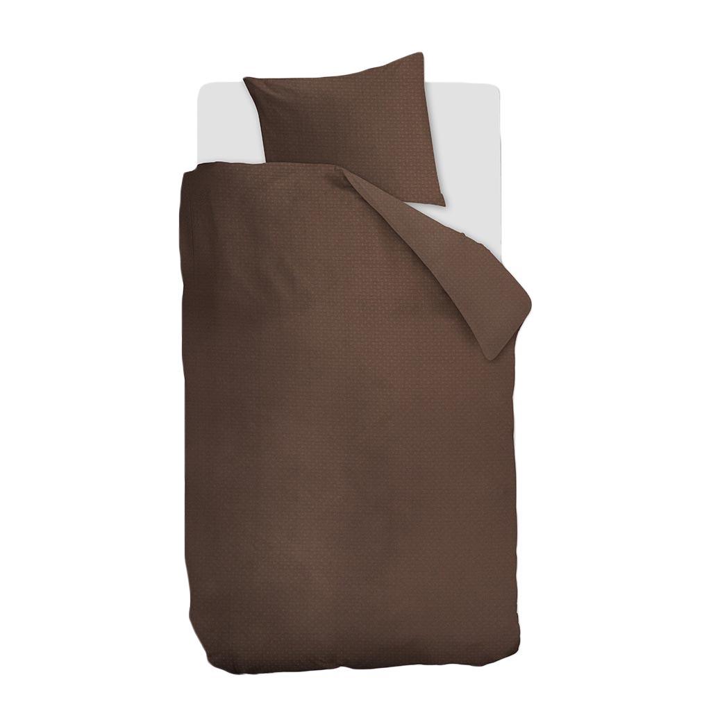 Partridge dekbedovertrek brown 1 persoons