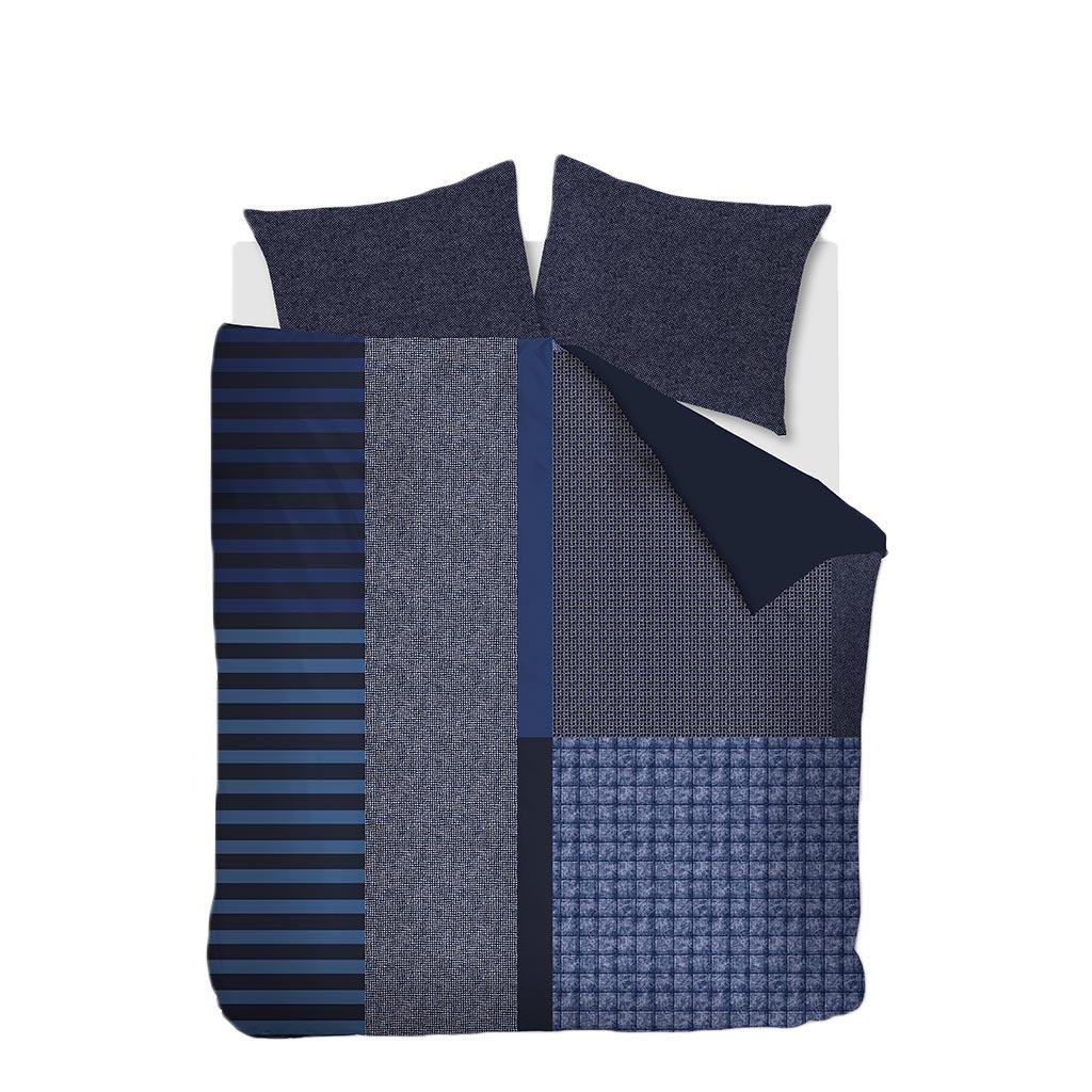 Bettwäsche Soho blue packshot 2P
