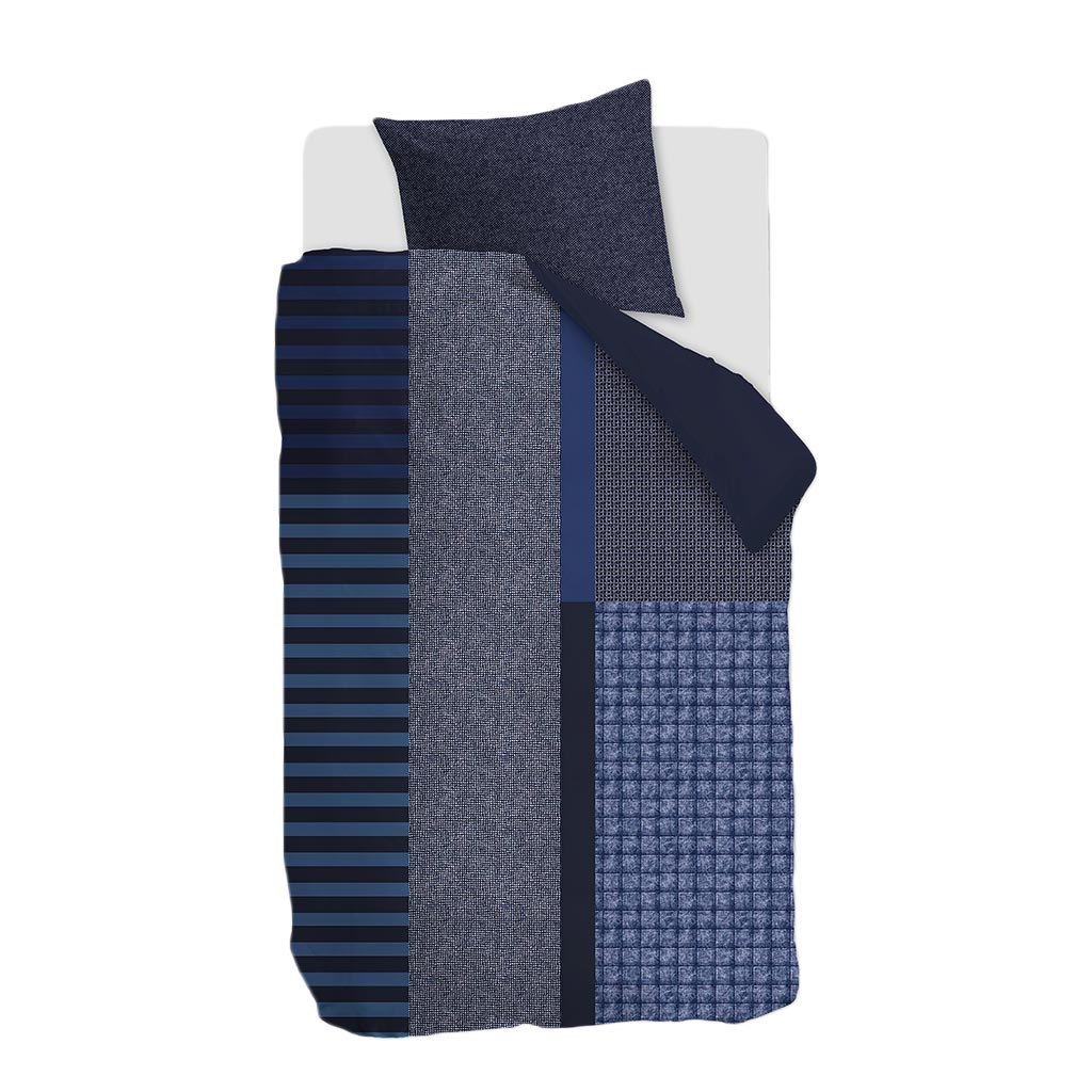 Bettwäsche Soho blue packshot 1P