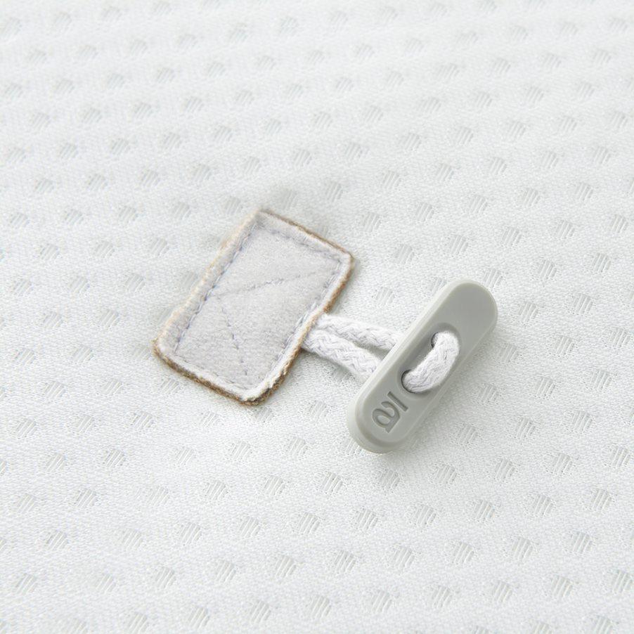 Comfort topper eenpersoons button 4