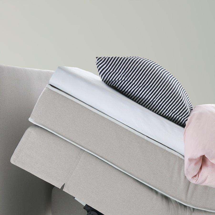 Comfort split mattress topper Criade boxspring 2