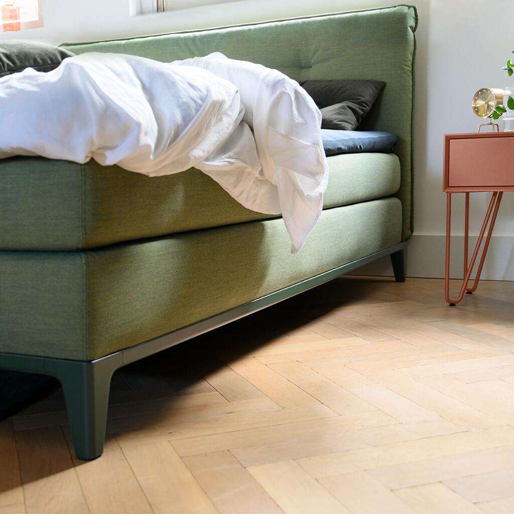 Deluxe mattress topper single boxspring 2
